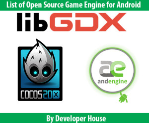 Open Source Game Engine for Android